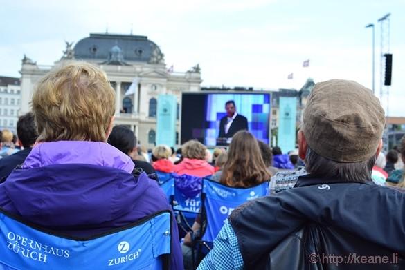 Opernhaus Zürich Free Opera in Sechseläutenplatz