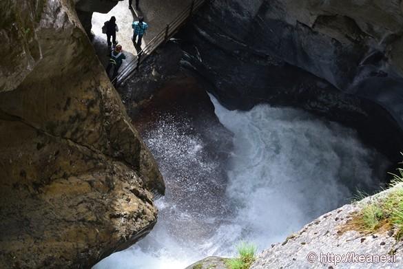 Trümmelbach Falls (Trümmelbachfälle) in Lauterbrunnen