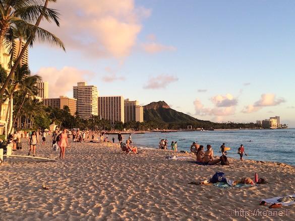 Oahu - Waikiki Beach and Diamond Head