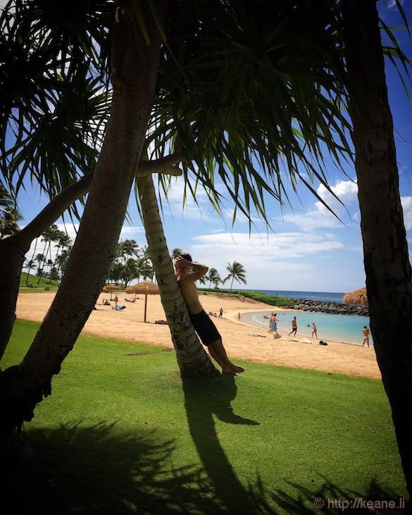 Oahu - Beach at Ko Olina