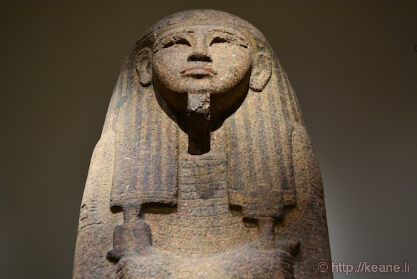 Egyptian Statue in the Museo Egizio