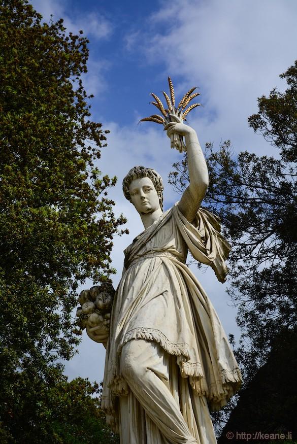 Statue in the Boboli Gardens