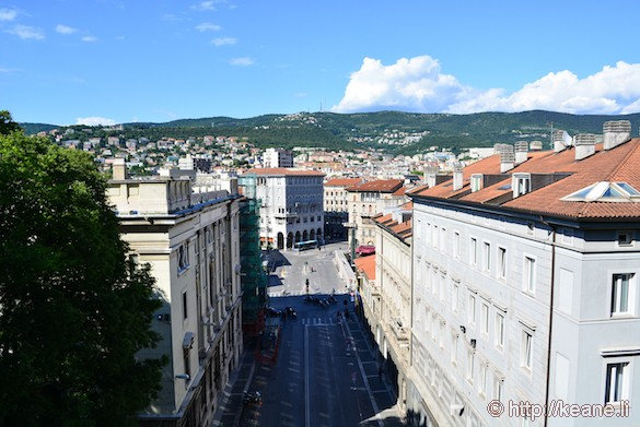 Downtown Trieste