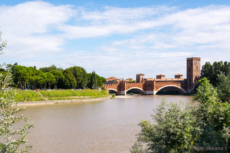 Castelvecchio Bridge in Verona