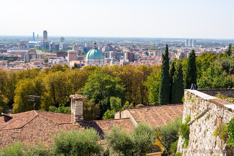 View from the Castello di Brescia