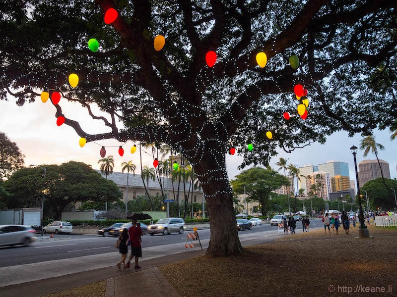 Honolulu City Lights 2016 at Honolulu Hale