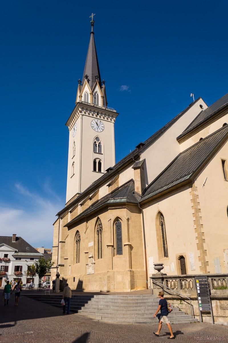 Parish Church St. Jakob in Villach, Austria