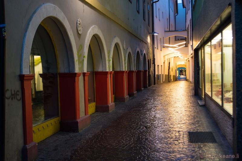 Villach, Austria in the Rain