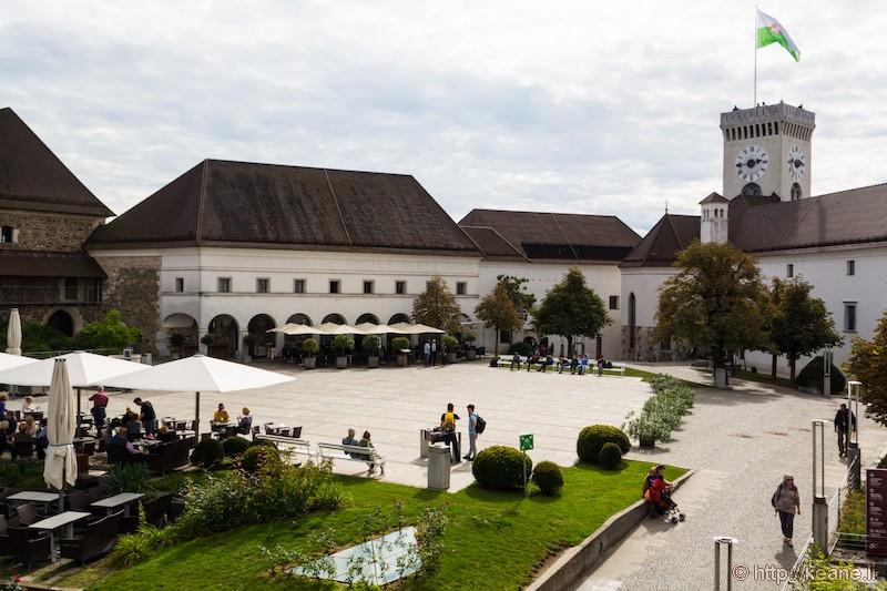 Inside Ljubljana Castle (Ljubljanski grad)