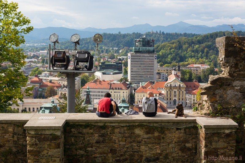 View from Ljubljana Castle (Ljubljanski grad)