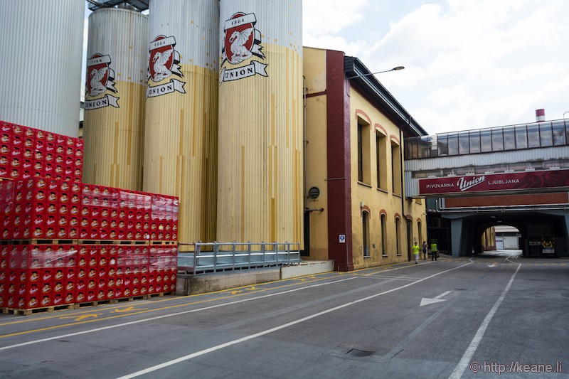 Pivnica Union Brewery in Ljubljana