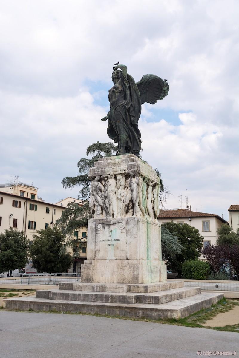 Monumento di Dino Manetti e Carlo Rivalta in Empoli