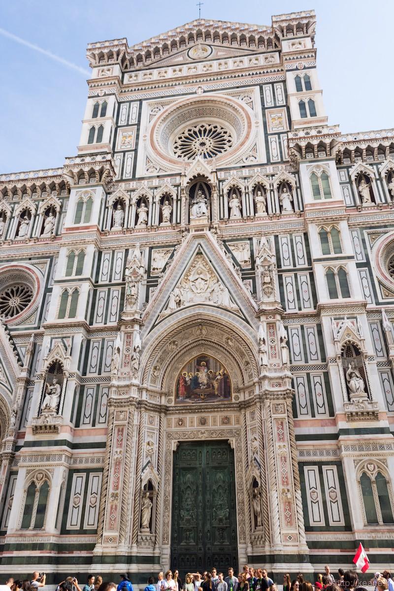 Façade of the Florence Duomo