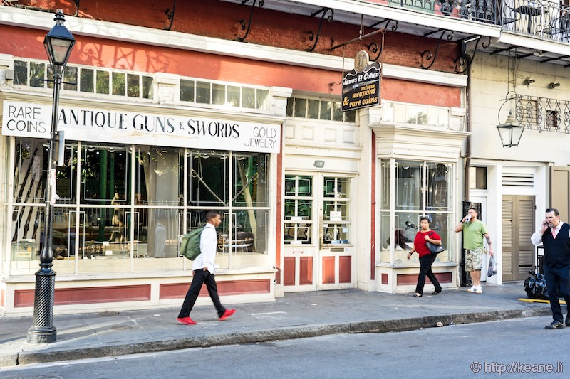 James H. Cohen Antiques Shop in New Orleans