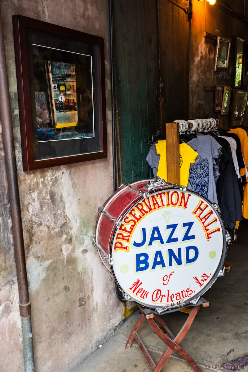 The Preservation Hall in New Orleans