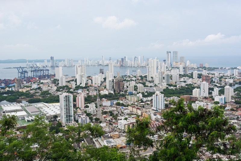View of the City of Cartagena