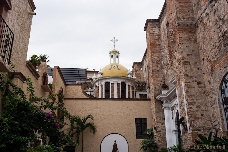 Church of Our Lady of Guadalupe in Puerto Vallarta, Mexico