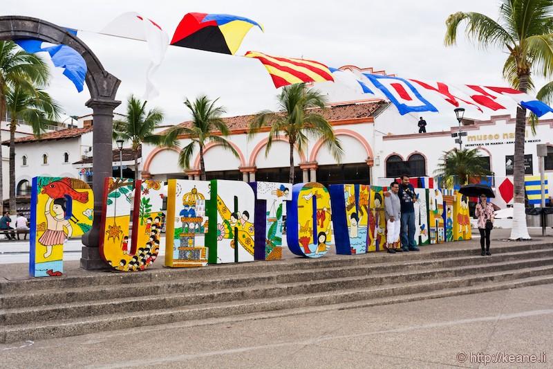 Puerto Vallarta Sign