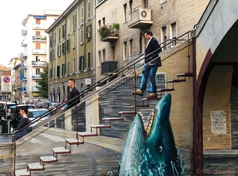 Street Art in the Navigli District