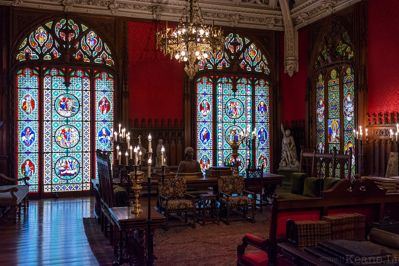 Inside the Marble House in Newport