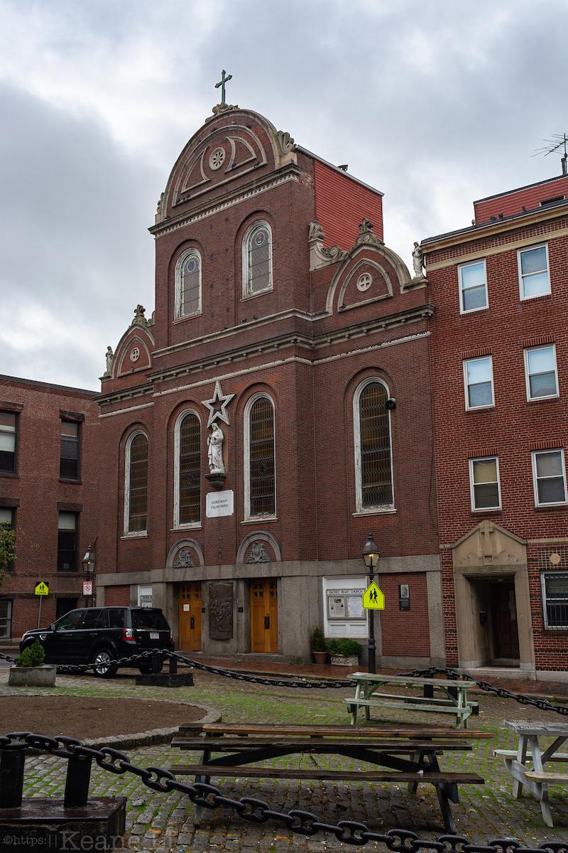 Rachel Revere Square in Boston